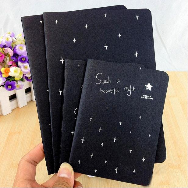 Черные блокноты своими руками